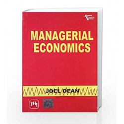 Managerial Economics by Dean Book-9788120301160
