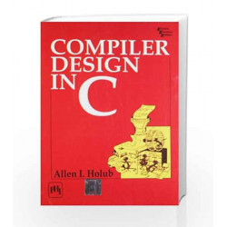 Compiler Design in C by Holub Book-9788120307780