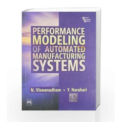 Performance Modeling of Automated Manufacturing Systems by VIswanadham Book-9788120308701