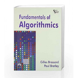 Fundamentals of Algorithmics by Brassard and Bratley Book-9788120311312