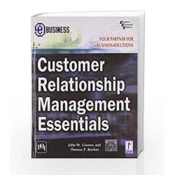 Customer Relationship Management Essentials by Gosney Book-9788120318090
