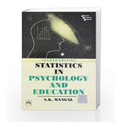 Statistics in Psychology and Education by Mangal Book-9788120320888