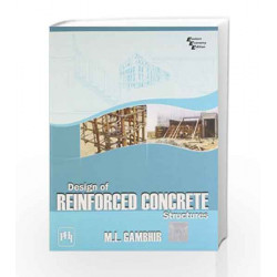 Design of Reinforced Concrete Structures by Gambir Book-9788120331938