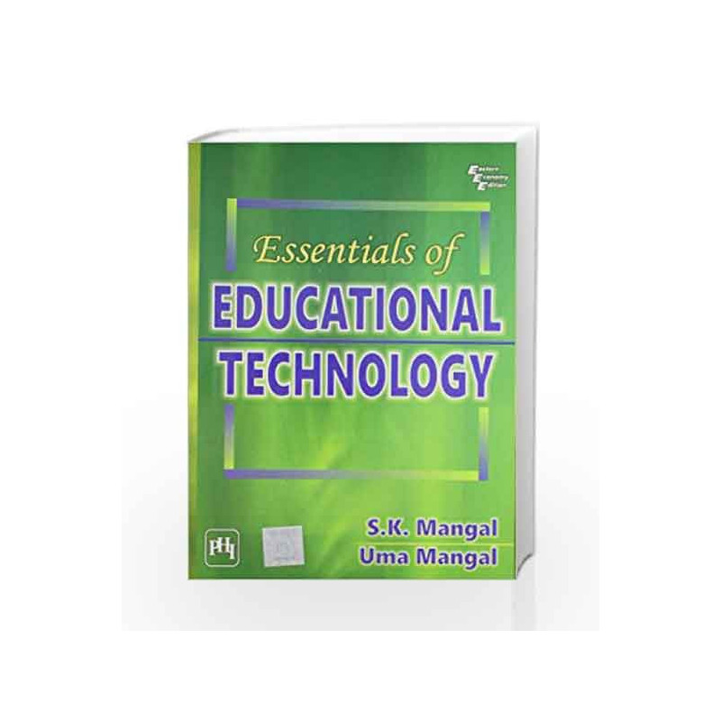 Essentials of Educational Technology by Mangal S K-Buy Online Essentials of  Educational Technology Book at Best Price in India:Madrasshoppe com