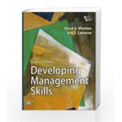 Developing Management Skills by Whetten D Book-9788120342101