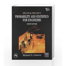 Miller and Freund\'s - Probability and Statistics for Engineers by Richard J Book-9788120342132