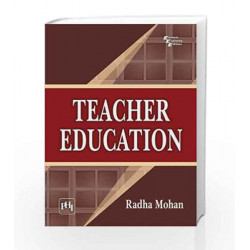 Teacher Education by Radha Book-9788120343825