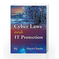 Cyber Laws and it Protection by Chander H Book-9788120345706