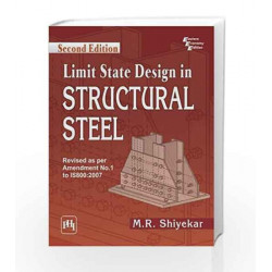 Limit State Design in Structural Steel by Shiyekar Book-9788120347847