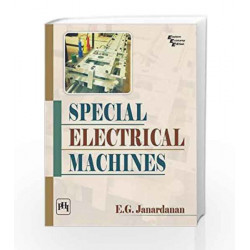 Special Electrical Machines by Janardanan E.G Book-9788120348806