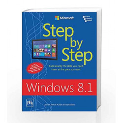 Windows 8.1 Step by Step by Rusen C.A Book-9788120349544