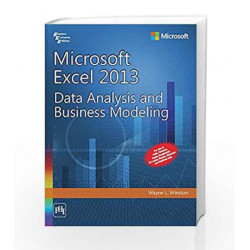 Microsoft Excel 2013: Data Analysis and Business Modeling by Winston Book-9788120349605