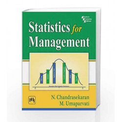 Statistics for Management by N. Chandrasekaran Book-9788120350519