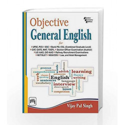 Objective General English by Singh V.P Book-9788120350939