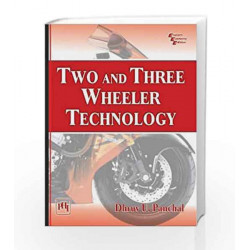 Two and Three Wheeler Technology by Dhruv Panchal Book-9788120351431