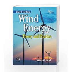 Wind Energy: Theory and Practice by Siraj Ahmed Book-9788120351639