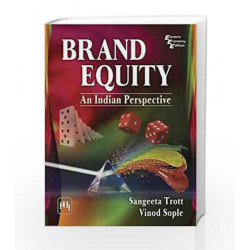 Brand Equity: An Indian Perspective by Sangeeta Trott Book-9788120351769
