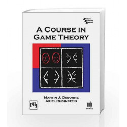 A Course In Game Theory by Osborne Martin J. Book-9788120351868