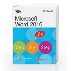 Microsoft Word 2016 Step By Step by Lambert Joan Book-9788120352018