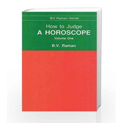 How to Judge a Horoscope: I to VI Houses - Vol.1 by N.A Book-9788120808478