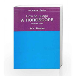 How to Judge a Horoscope: 2 by N.A Book-9788120808485