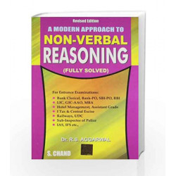 Non Verbal Reasoning (Old Edition) by John Fenton Book-9788121905534