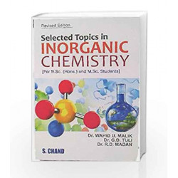 Selected Topics in Inorganic Chemistry by Malik W.U. & et Al. Book-9788121906005