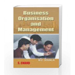 Business Organization & Management by M.C. Shukla Book-9788121908139
