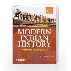 Modern Indian History: British Rule in India and After by Mahajan V.D. Book-9788121909358