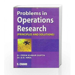 Problems in Operations Research by Gupta Prem Kumar Book-9788121909686