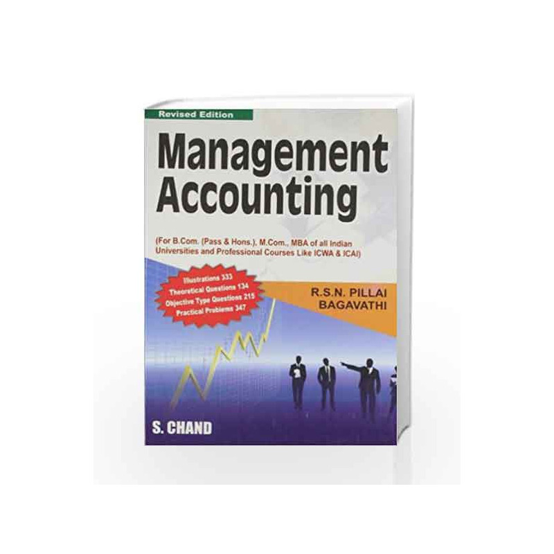 Management Accounting by R.S.N. Pillai Book-9788121910620