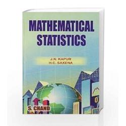 Mathematical Statistics by Kapur J.N. Book-9788121912464