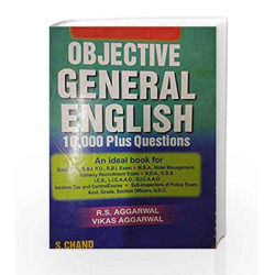 Objective General English (Old Edition) by R.S. Aggarwal Book-9788121915311
