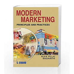 Modern Marketing Principles and Practices by Pillai R.S.N. Book-9788121916974