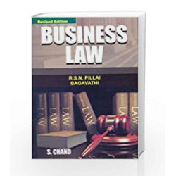 Business Law by Pillai R.S.N. Book-9788121919272
