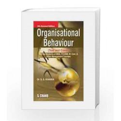 Organizational Behaviour by Khanka S.S. Book-9788121920148
