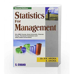 Statistics and Management by P.N. Arora Book-9788121922852
