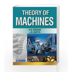 Theory of Machines by JUNE THOMSON Book-9788121925242
