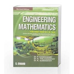 Engineering Mathematics by Gunavathi K. Book-9788121927970