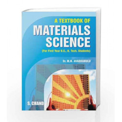 S. Chand\'s Material Science by M.N. Avadhanulu Book-9788121930864
