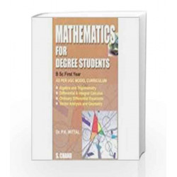 Mathematics for Degree Students for B.Sc. 1st Year by Mittal P.K. Book-9788121932400