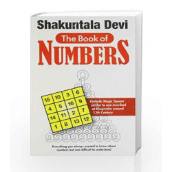 Book of Numbers by Shakuntala Devi Book-9788122200065
