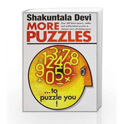 More Puzzles to Puzzle You by Shakuntala Devi Book-9788122200485