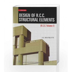 Design of R.C.C. Structural Elements: Vol.1 (Old Edition) by SCHMIDT Book-9788122416930
