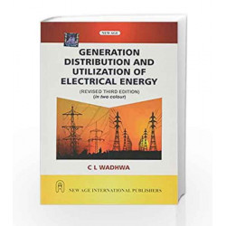 Generation Distribution and Utilization of Electrical Energy by SINGH Book-9788122438536
