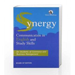 Synergy: Communication in English by In House Book-9788125035770