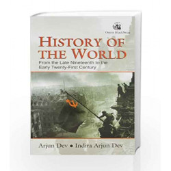 History of the World by Arjun Dev^Indira Arjun Dev Book-9788125036876