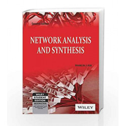 Network Analysis and Synthesis, 2ed by Franklin  F. Kuo Book-9788126510016