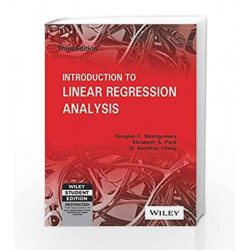 Introduction to Linear Regression Analysis by Douglas C Montgomery Book-9788126510474