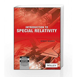 Introduction to Special Relativity by Robert Resnick Book-9788126511006